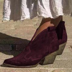 De mujer PU Tacón bajo Botas con Otros zapatos