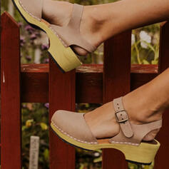 De mujer PU con Hebilla zapatos