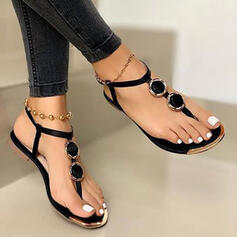 Women's PU Flat Heel Sandals shoes