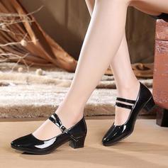 Женский бальный Обувь для персонажей Каблуки дерматин бальный