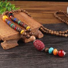 Unique Beautiful Fashionable Exquisite Plastic With Resin Necklaces