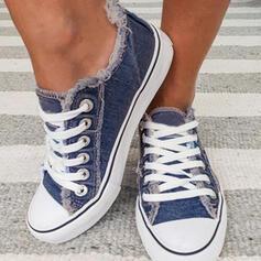Γυναίκες Καμβάς Ανέμελος ΕΞΩΤΕΡΙΚΟΥ ΧΩΡΟΥ Με Κέντημα-επάνω παπούτσια