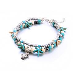 Μόδας Δροσερός Κράμα Παραλία κοσμήματα Ποδιές