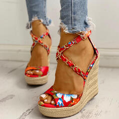 De mujer Satén Tipo de tacón Sandalias Encaje con Arco del satén zapatos