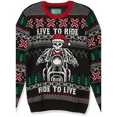 унисекс Полиэстер Распечатать Письмо Гадкий рождественский свитер
