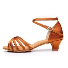 Pentru Femei Latin Tocuri Sandale Satin Latini