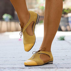 Dla kobiet PU Płaski Obcas Plaskie Z Tkanina Wypalana obuwie