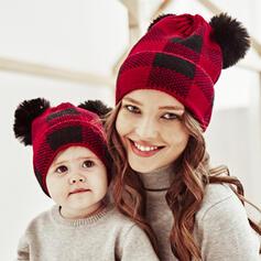 Dames/D'enfant/Femmes Polyester Disquettes Chapeau