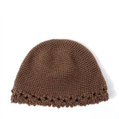Kvinder Glamourøse/Charmen/Vintage Bomuld med Hør Diskette Hat