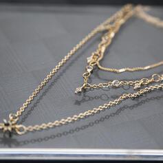 Modern Legering Strass Halsband