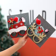 Poliéster Jóias de Natal (Vendido em uma única peça)