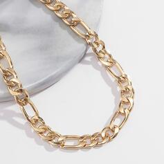 Alla moda Sexy stile vintage Stile classico lega con Placcato oro Donna Signore Cavigliere 1 pc