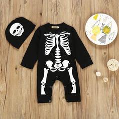 2 pièces bébé Squelette Imprimé Coton Définir La Taille