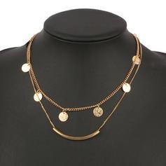 Shining Alloy Ladies' Fashion Necklace