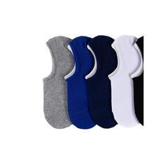 Jednobarevná Non Slip/Žádné ponožky/Unisex Ponožky (Sada 5 párů)