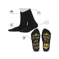 Dopis/Tisk Prodyšný/Posádkové ponožky/Unisex Ponožky