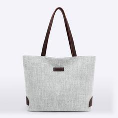 Color sólido/Estilo bohemio/Simple/Super conveniente Bolsas de mano/Bolsas de playa/Bolsas de Hobo