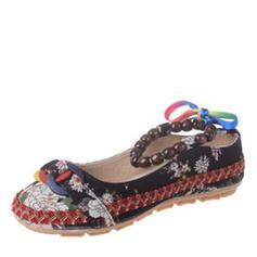 Γυναίκες Υφασμα Επίπεδη φτέρνα Διαμερίσματα παπούτσια
