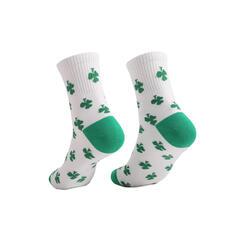 Listy Posádkové ponožky/Unisex/Den svatého Patrika Ponožky