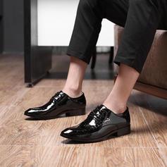 Män Latin Modern Platta Skor / Fritidsskor Microfiber läder Modern