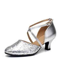 Vrouwen Ballroom Hakken Sprankelende Glitter Ballroom