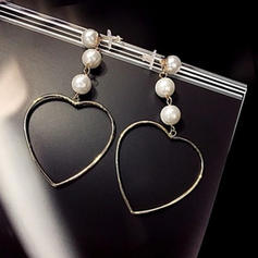 Modern Legering Fauxen Pärla Damer' Mode örhängen