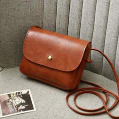 Solid Color Crossbody Bags/Shoulder Bags