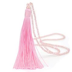 frumos La modă Simplu Cristal cu ciucuri Femei coliere