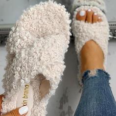 De mujer Tejido Tacón plano Pantuflas con Otros zapatos