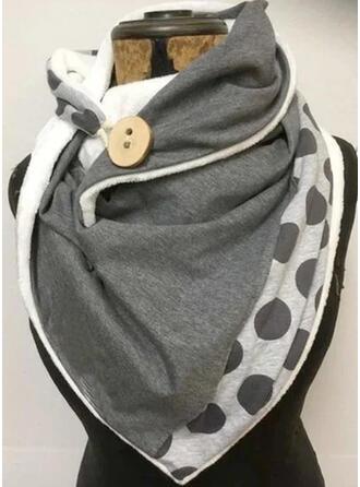 Polka Dots/Retro/Vintage/Stitching fashion/Boho/Comfortable Scarf