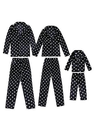 Lunares Familia a juego Pijamas De Navidad