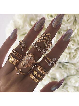 Elegant Aliaj Seturi de bijuterii Inele