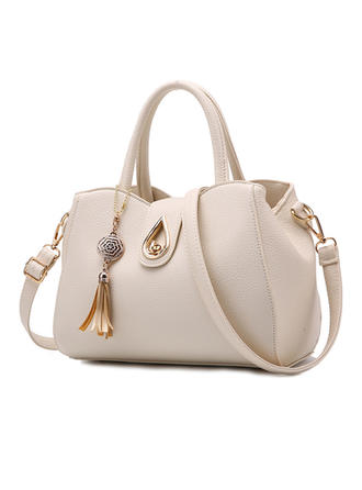 Elegante/Clásica/Color sólido Bolsas de mano/Bolsos cruzados/Boston Bolsas