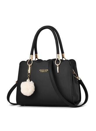 Elegant/Delicate/Classical/Lichee Pattern/navetism Tote Bags/Corpuri de transmisie/Geantă pe Umăr