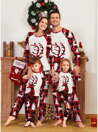 Rena Xadrez Família Combinando Natal Pijama