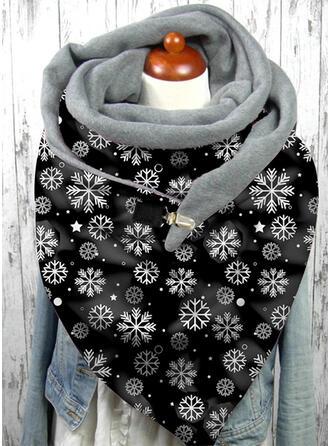 Blumen/Weihnachten mode/Weihnachten Schal