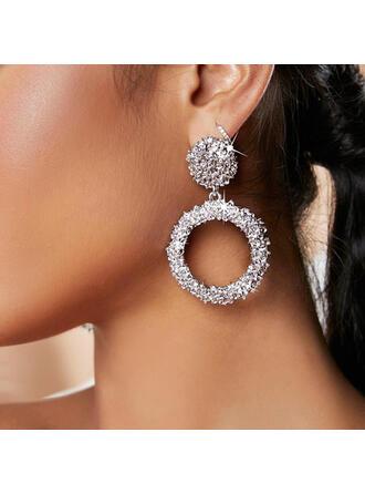 geometrisk Legering Kvinnor örhängen 2 st