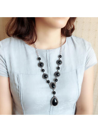 Exquisite Chic Charming Fox Attractive Turquoise With Imitation Stones Women's Ladies' Girl's Necklaces