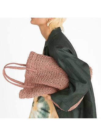 Unique/Bohemian Style/Braided/Super Convenient/Handmade Tote Bags/Beach Bags/Bucket Bags/Hobo Bags