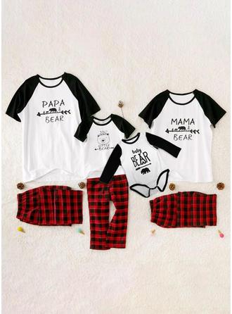 Carta Familia a juego Pijamas De Navidad