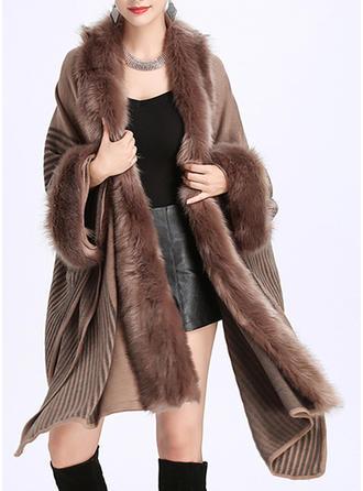 Culoare solida Oversized/Vreme rece wraps