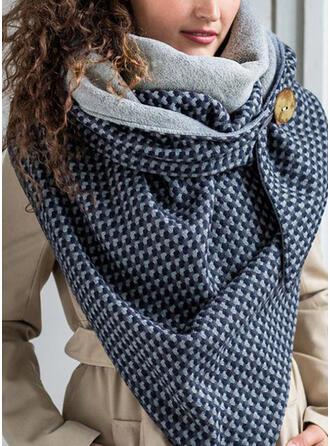 Tartan/Stampa geometrica Scialle/moda/Confortevole Sciarpa