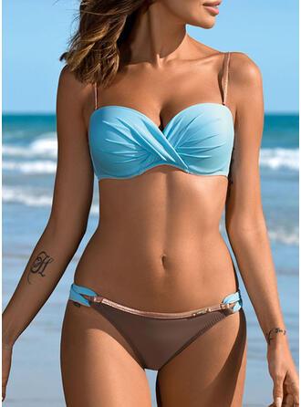 Empujar Correa Sexy Bikinis Trajes de baño