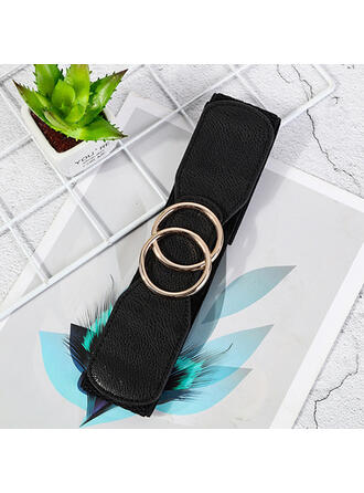 Enkel Charmen konstnärligt Delikat Ko läder med andas Minimalistisk Kvinnor Brett bälte