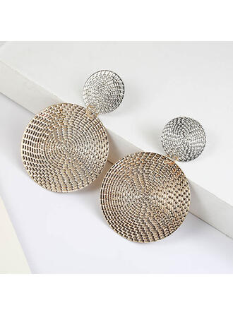 Unique Shining Alloy Earrings (Set of 2)