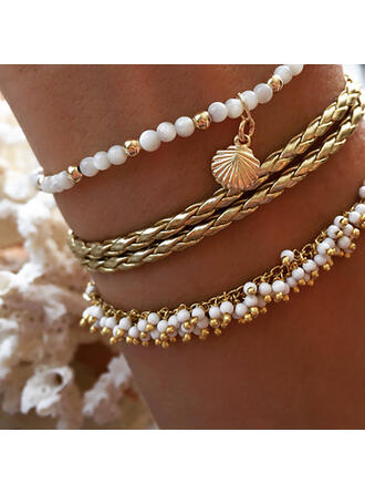 Charming Hottest Alloy Imitation Pearls With Imitation Pearl Jewelry Sets Bracelets (Set of 3)