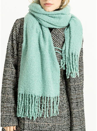 Culoare solida atractivă/Vreme rece Eșarfă