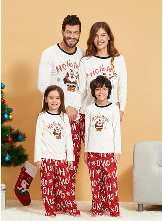 Σάντα Επιστολή Οικογένεια Εμφάνιση Χριστουγεννιάτικες πιτζάμες