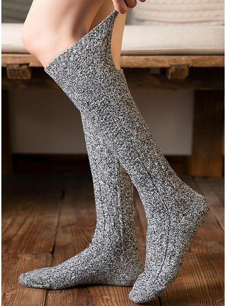 Solid Color Comfortable/Women's/Calf Socks Socks/Stockings
