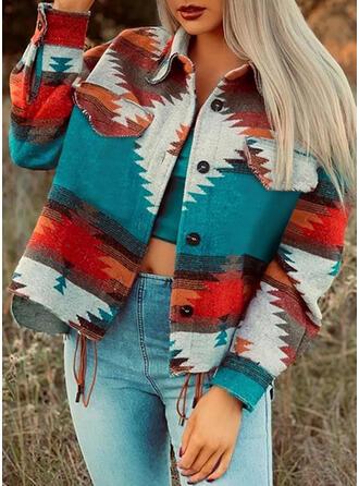 長袖 印刷 ジャケット